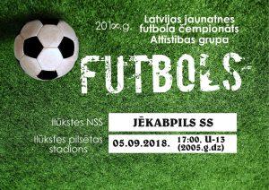 Septembrī Ilūkstes stadionā notiks vairākas futbola spēles