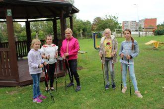 Bērnu un jauniešu centrā notika nodarbības par veselīgu dzīvesveidu un radošās darbnīcas
