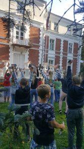 Radoši un sportiski aktīvi sācies jaunais mācību gads Bebrenē