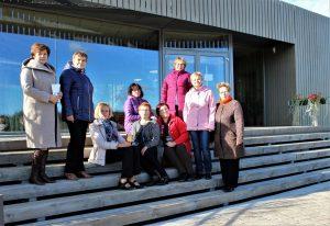 Ilūkstes novada bibliotēku darbinieki devās pieredzes apmaiņā uz Vidzemi