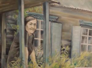Ilūkstes novada kultūras centrā skatāma mākslas darbu izstāde