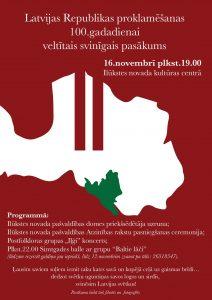 Sagaidot Latvijas Republikas proklamēšanas dienu…