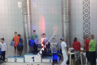 Ilūkstes novada Sporta skolas peldētāji sacenšas kaimiņvalstīs