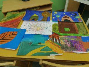 Subates pilsētas bibliotēkā valsts svētku mēnesī tapuši skaisti radošie darbi