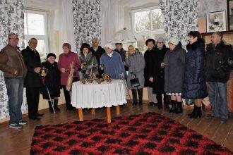 Novada politiskie represētie godināja Latviju