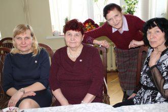 Latvijas Sarkanā Krusta Ilūkstes novada komitejas darbinieki tikās tradicionālajā Pateicības pēcpusdienā
