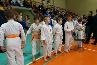Ilūkstes jaunie karatisti veiksmīgi startējuši starptautiskā čempionātā