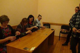Subatē aizvadīts galda spēļu vakars