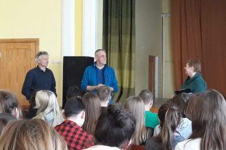 """Programmas """"Latvijas skolas soma"""" ietvaros skolēniem bija iespēja noskatīties dokumentālo filmu"""