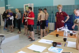 """Aizvadītas novada peldēšanas sacensības """"Pirmie starti"""""""