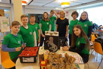 Novada skolēnu komandas piedalījās robotikas sacensību pusfinālā