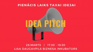 LIAA Daugavpils biznesa inkubators piedāvā iespēju prezentēt savu biznesa ideju 5 minūtēs