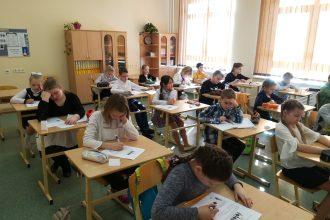 Ilūkstes Raiņa vidusskolā tika organizēta Ilūkstes novada sākumskolas skolēnu kombinēta satura olimpiāde