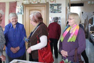 Ilūkstes un Jēkabpils rokdarbnieces tiekas pieredzes apmaiņas seminārā