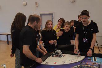 Ilūkstes novadā interešu izglītības darbā popularitāti gūst Lego robotika