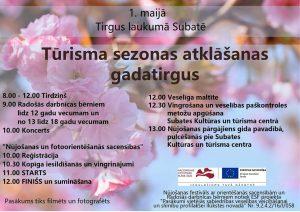 1. maijā aicinām kopā atklāt tūrisma sezonu