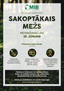"""Meža īpašnieki aicināti pieteikties konkursam """"Sakoptākais mežs 2019"""""""