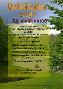 24. maijā Pilskalnes pagastā notiks tradicionālie Melnā kalna svētki