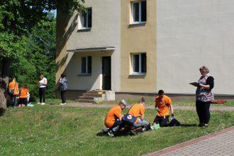 Notika pirmās palīdzības sniegšanas sacensības skolēniem