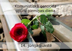 Ilūkstē notiks Komunistiskā genocīda upuru piemiņas dienas atceres pasākums