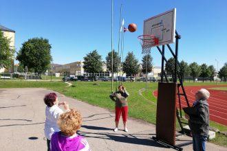 Ilūkstē norisinājās Sporta spēles senioriem