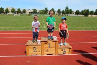 Bērnu aizsardzības dienā notika bērnu riteņbraukšanas sacensības