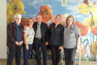 Latvijas Sarkanā Krusta Daugavpils-Ilūkstes novadu komiteju apmeklēja  sadarbības partneri no Dānijas