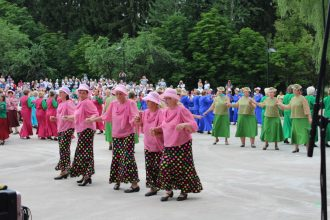 Seniori dzied un dejo Višķos