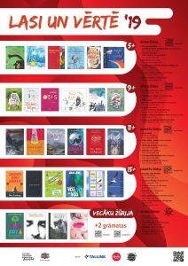 """""""Bērnu, jauniešu un vecāku žūrijas"""" jaunā grāmatu kolekcija ir klāt!"""
