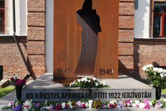 14. jūnijā Ilūkstē tika atzīmēta Komunistiskā genocīda upuru piemiņas diena