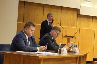 Ilūkstes novada deputāti devās uz tikšanos ar VARAM ministru J. Pūci