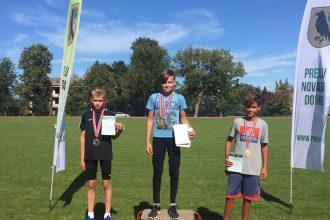 Novada sportistiem – 13 medaļas Preiļu novada čempionātā vieglatlētikā