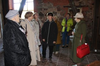 """Biedrība """"Baltā māja"""" no Līvāniem tikās ar novada senioriem"""