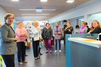 Bibliotekāri devās pieredzes apmaiņas braucienā uz Jūrmalas bibliotēkām