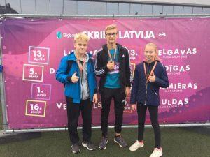 """Albertai Zeltiņai 2. vieta sacensībās """"Skrien Latvija 2019"""""""