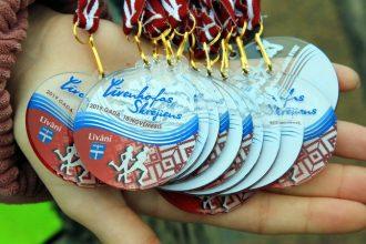 Ilūkstes novada Sporta skola piedalās Līvenhofas skrējienā