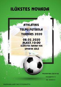 Ilūkstes novada 2020.gada atklātais telpu futbols