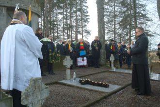 Eglaines pagastā tur godā Lietuvas karavīru piemiņu