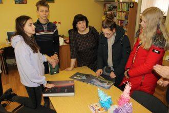 Pilsētas Bērnu bibliotēka sadarbojas ar skolu bibliotekāro stundu ciklā