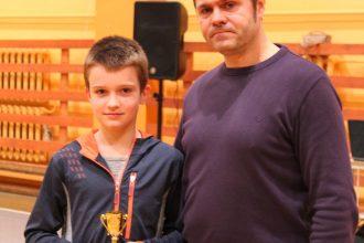 """Sporta skolas pasākums""""KOPĀ"""" aizritējis, atstājot kopības sajūtas un prieku par gada balvām"""