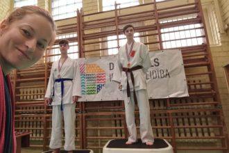 Ilūkstes karatisti gūst godalgas starptautiskā čempionātā Daugavpilī