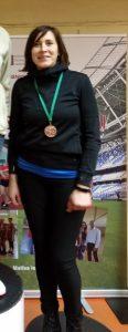 Elitai Kaļiņinai bronzas medaļa LSVS 57. sporta spēlēs vieglatlētikā telpās