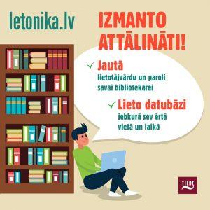 Lietojiet digitālo zinību resursu Letonika.lv attālināti!