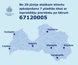 VID atsāk klientu apkalpošanu vēl 7 pilsētās, apmeklētājiem obligāti iepriekš jāpierakstās