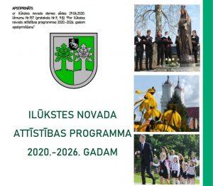 Paziņojums par Ilūkstes novada attīstības programmas 2020.–2026. gadam apstiprināšanu