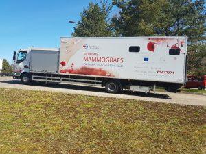 Daugavpils reģionālā slimnīca piedāvā mobilā mamogrāfa izmeklējumus Subatē un Bebrenē