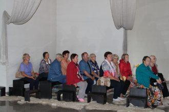 Ilūkstes novada aktīvie seniori iepazīst Bauskas novadu