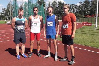 Ilūkstes novada vieglatlēti izcīnīja 10 medaļas Latvijas čempionātā