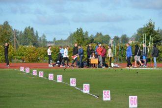 Ilūkstiešiem veiksmīgi starti Vārkavas novada atklātajā čempionātā vieglatlētikā