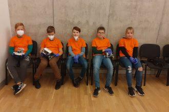 Ilūkstieši turpina startēt Latvijas robotikas čempionātā